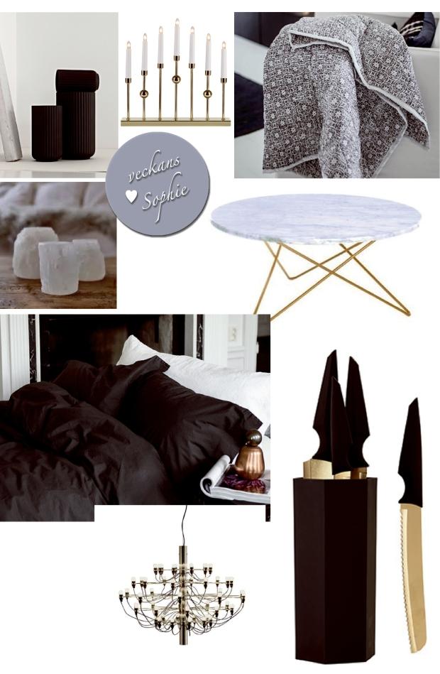 Sophie Ingelsten letar inspiration på nätet och samlar saker hon önskar sig i julklapp i detta collage!