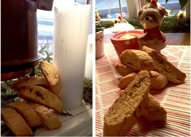 Saffranbiscotti när bageriet Skånskan i Halmstad gör dem!