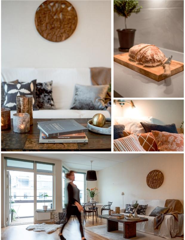 Detaljbilder från stylad lägenhet