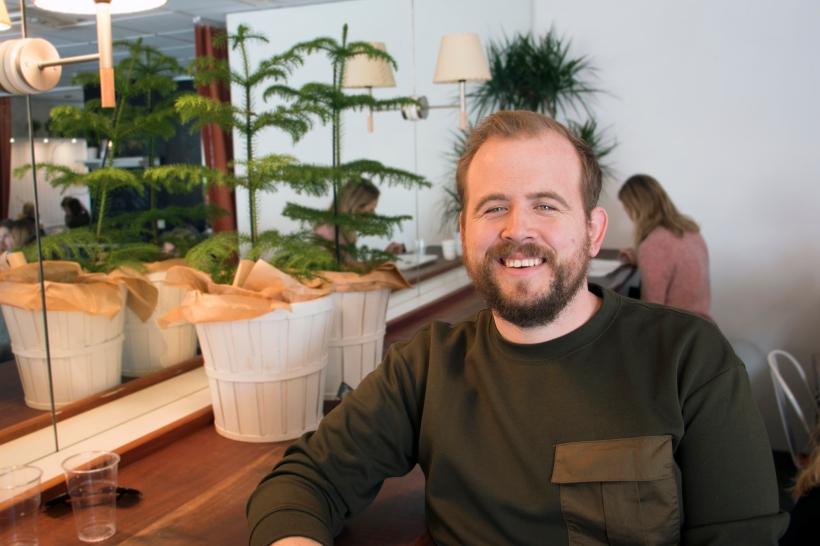 Henrik Arvedsson på Rammakeriet A.H