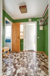 En grön hall för dig som gillar retro