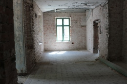 Tomt rum i Doktorsvillan, Halmstad