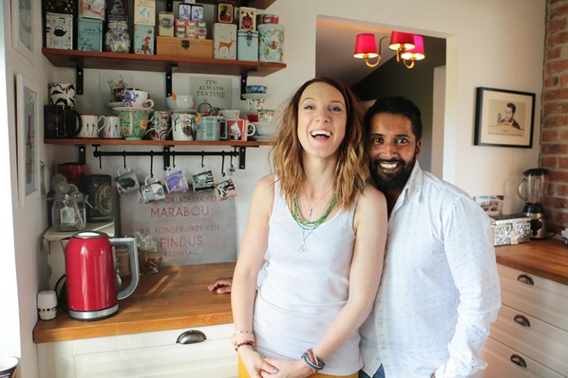 Catharina och Daniel Sanjay