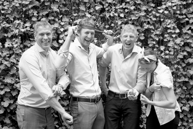 Bostad&Co består av Kalle Svensson, Henric Johansson, Ante Nilsson och Jessika Nilsson