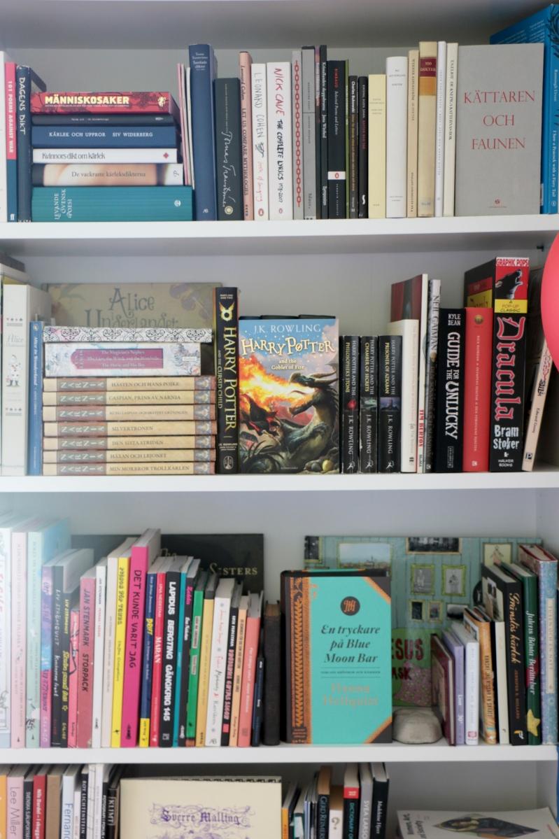 Vänd några böcker framåt för inspirationens och de vackra framsidornas skull! Foto: Jessika Nilsson