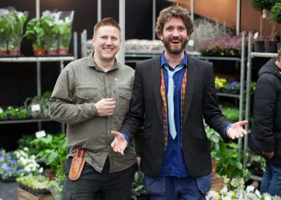 Peter Bengtsson och Tony Johansson inspirerar med Trädgårdshöst! Foto: Bomässan, Compass Fairs.