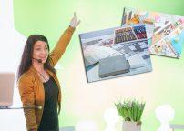Inredningskurs på Bomässan – gör en moodboard med Maria Celin. Foto: Patrik Forsberg, med tillstånd från Bomässan, Compass Fairs.