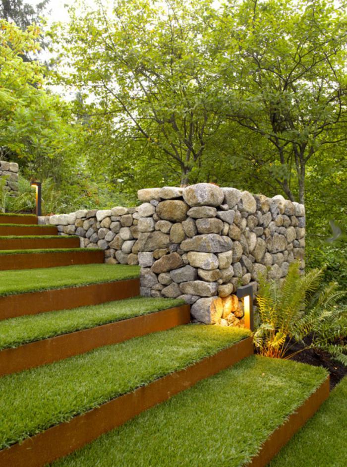 Grästrappa från Woodland-contemporary!