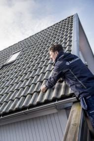 Taket ska också besiktigas! Bild: Anticimex
