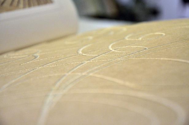 Dessa underbara tapeter har sydda mönster!