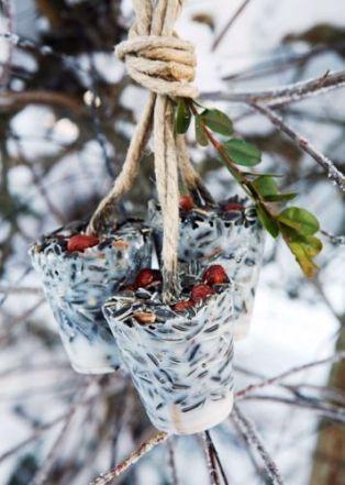 """Fina """"talgbollar"""" att hänga i träden! Bild lånad från bo-bedre.no"""
