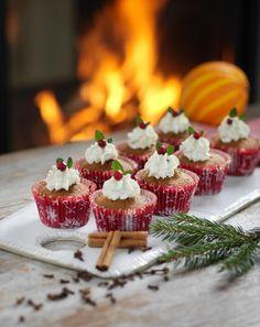 Söta pepparkaksmuffins! Bild lånad från hemmets.se