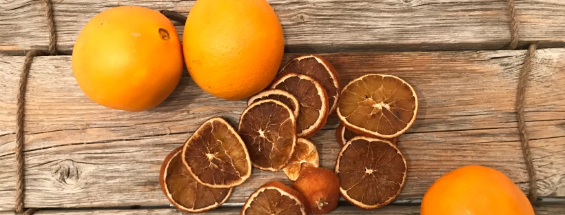 torkade apelsiner. foto: jess.nilsson
