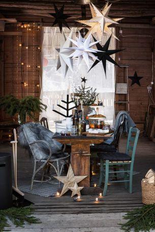 Älskar hur man samlat massor av stjärnor ovanför bordet! Foto lånat från: myhome.aftonbladet.se