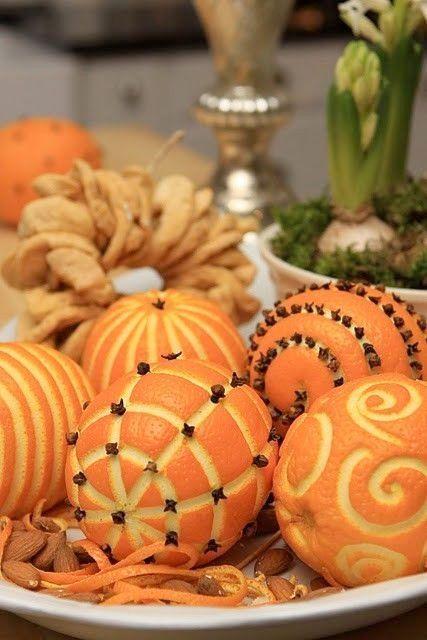 Vackra mönster i apelsinerna! Bild lånad från Skönahem.com