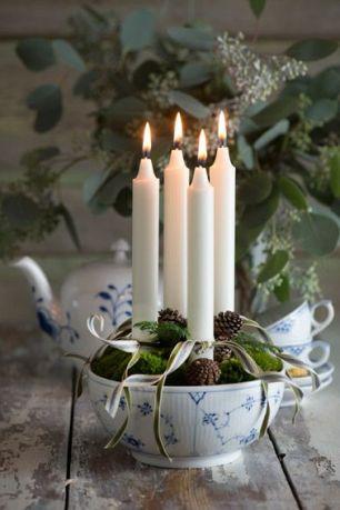 Ljusen samlade i en söt skål! Foto lånat från: Soendag.dk