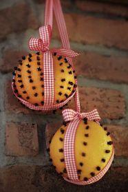 Traditionella apelsiner med nejlikor går alltid hem! Bild lånad av Trendenser.se