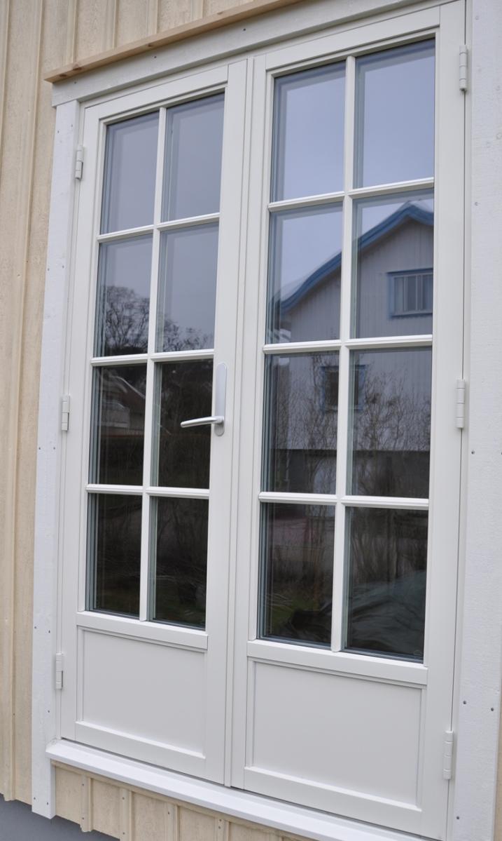 Fönsterdörr med spröjs. Bild: Patrik Ferdinandsson, Fönsterbolaget i Halland (Norlux Fönster)