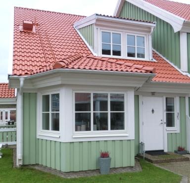 Fönsterparti med spröjs. Bild: Patrik Ferdinandsson, Fönsterbolaget i Halland (Norlux Fönster)