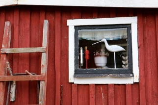 Stugfönster. Bild: Jessika Nilsson
