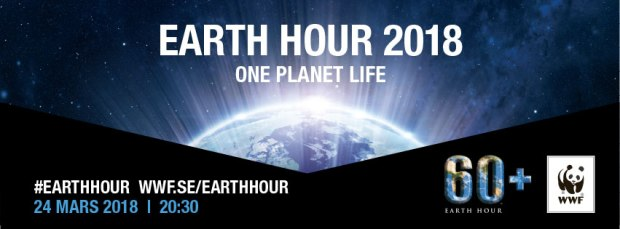 Earth Hour 2018 - WWF - #earthhour