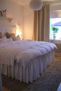Mysigt och fluffigt sovrum