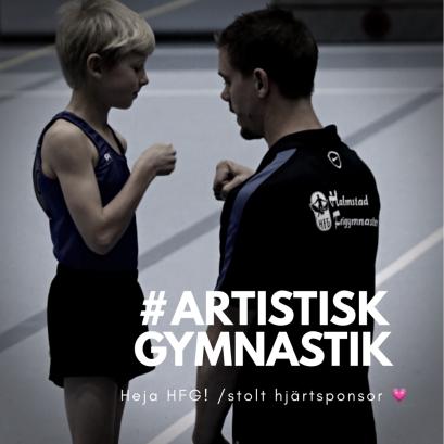 SM i Artistisk Gymnastik i Arenahallen i Halmstad